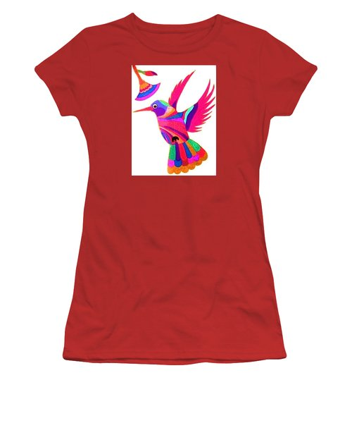 Humming Bird Women's T-Shirt (Athletic Fit)