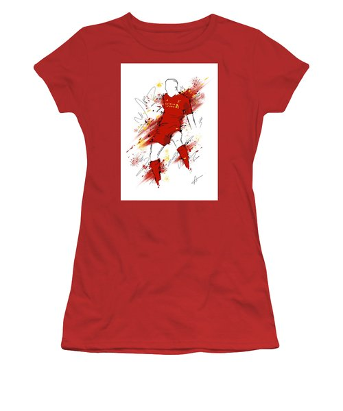 I Am Red #2 Women's T-Shirt (Athletic Fit)