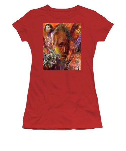 Impossible Dream Women's T-Shirt (Junior Cut) by John Robert Beck