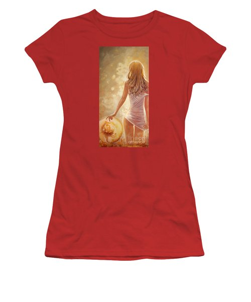 In Fields Of Summer Gold Women's T-Shirt (Athletic Fit)