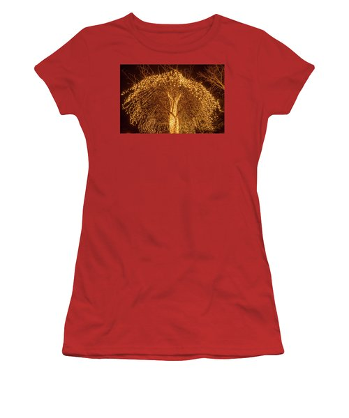 Incandescent Branches  Women's T-Shirt (Athletic Fit)