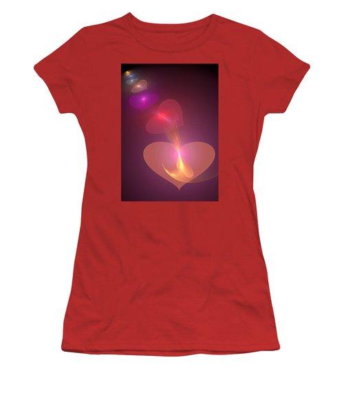 Infinite Love Women's T-Shirt (Junior Cut) by Svetlana Nikolova