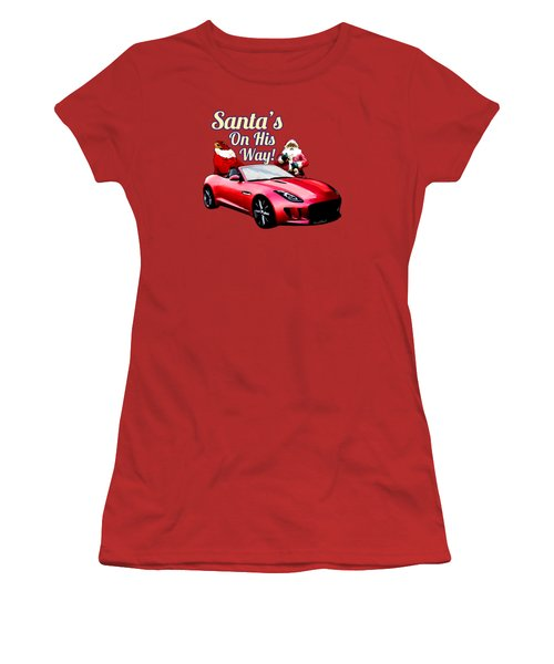 Santas Secret Sleigh Revealed Women's T-Shirt (Athletic Fit)