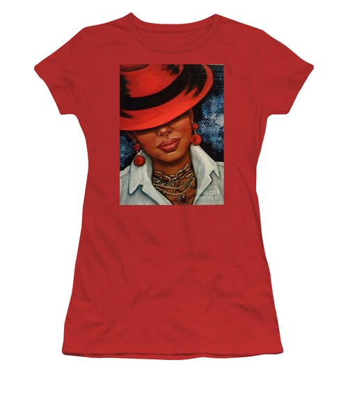 Jazzy Women's T-Shirt (Junior Cut) by Alga Washington