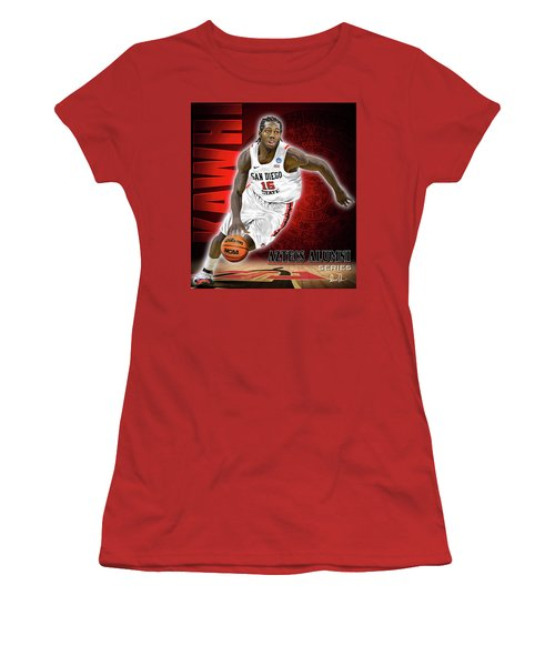 Kawhi Women's T-Shirt (Athletic Fit)