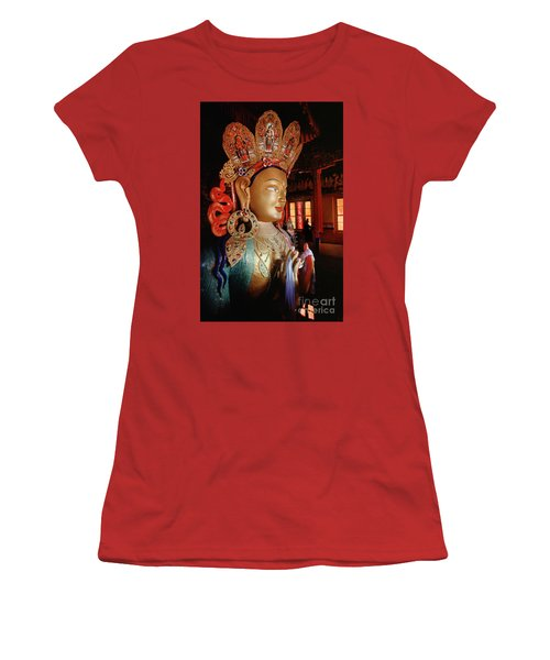 Women's T-Shirt (Junior Cut) featuring the photograph Ladakh_41-2 by Craig Lovell