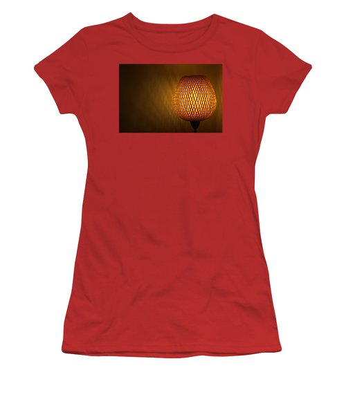 Lamp Women's T-Shirt (Junior Cut) by RKAB Works