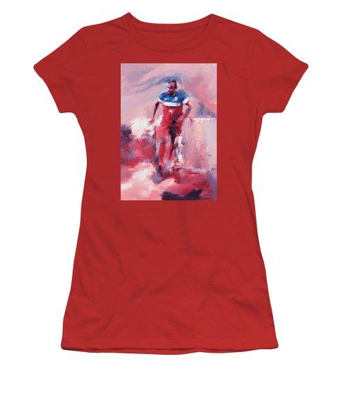 Landon Donovan 545 2 Women's T-Shirt (Athletic Fit)