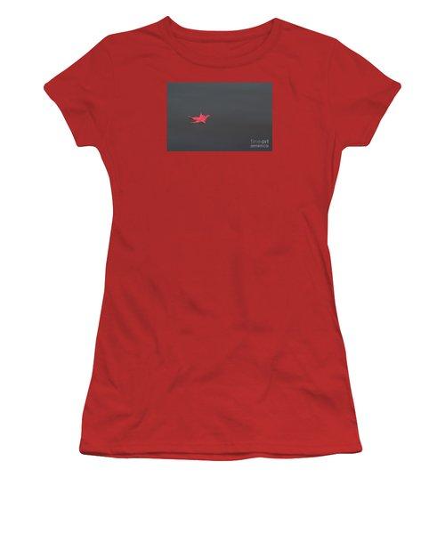 Leaf Alone Women's T-Shirt (Junior Cut) by Kevin McCarthy