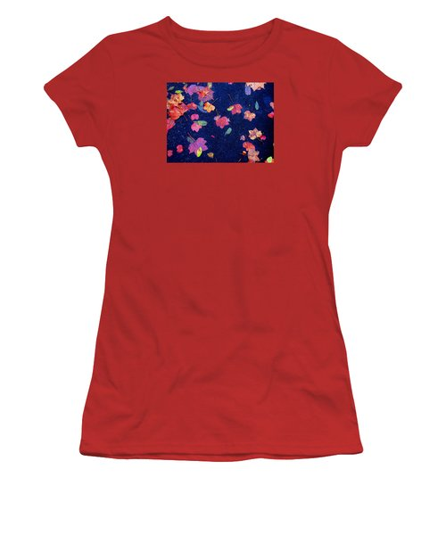 Leaves Women's T-Shirt (Junior Cut) by Christopher Woods