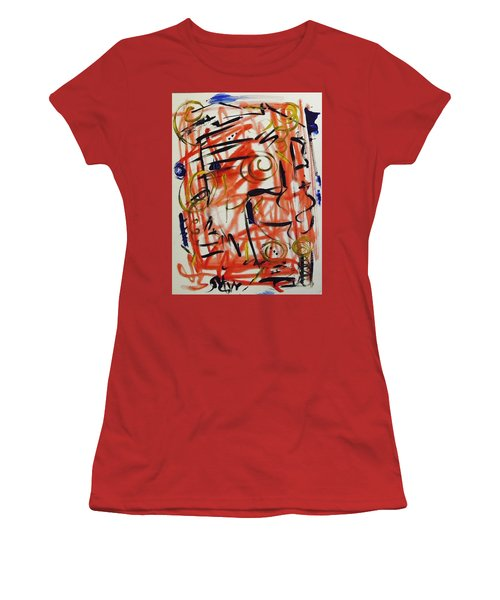 Life Should Be Filled With Spontaneity Women's T-Shirt (Junior Cut) by Mary Carol Williams