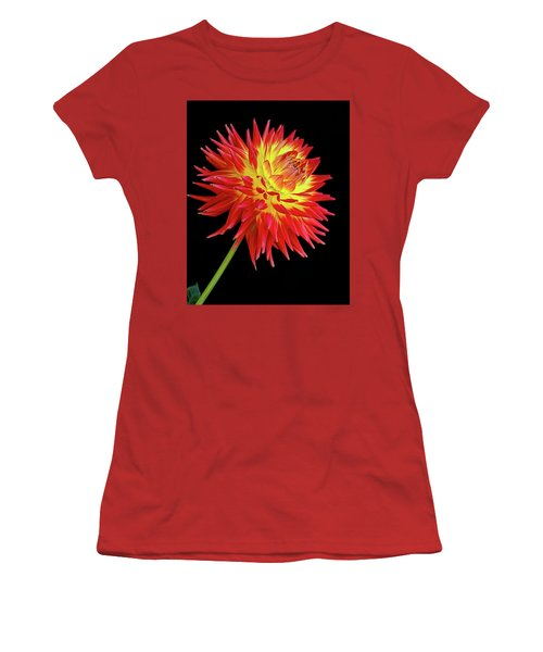 Like A Fire Women's T-Shirt (Athletic Fit)