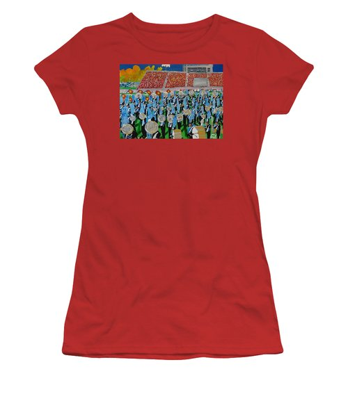 Lincoln Band Women's T-Shirt (Junior Cut) by Rodger Ellingson