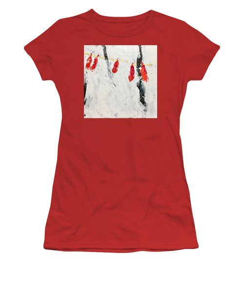Lives Deflated Women's T-Shirt (Athletic Fit)