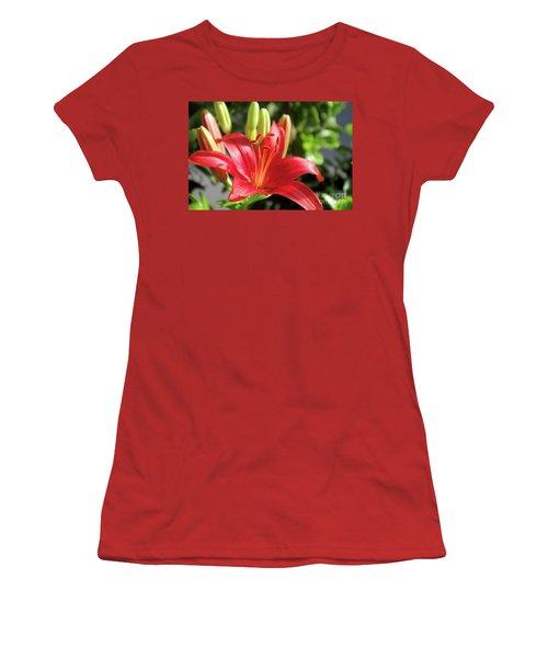 Lovely Flower Women's T-Shirt (Athletic Fit)