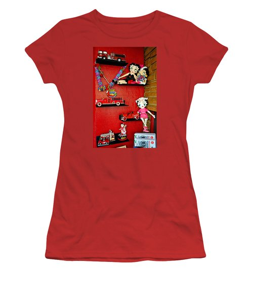 Luxurious Tchotchkes Women's T-Shirt (Athletic Fit)