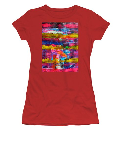Mad Season Women's T-Shirt (Junior Cut) by Everette McMahan jr