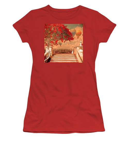 Magical Kindom Women's T-Shirt (Athletic Fit)