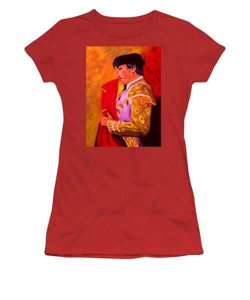 Manolete1 Women's T-Shirt (Junior Cut) by Manuel Sanchez