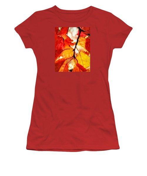 Maple Women's T-Shirt (Athletic Fit)