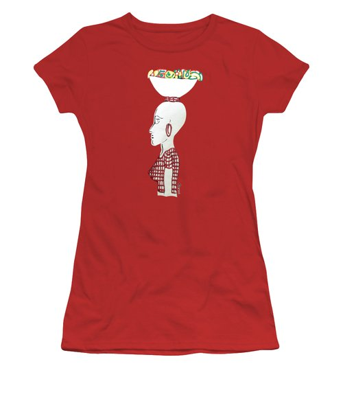 Market Woman1 Women's T-Shirt (Athletic Fit)