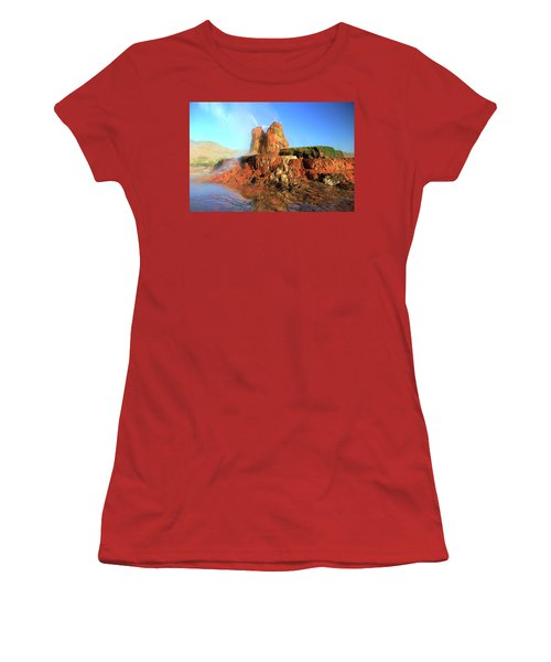 Meet The Fly Geyser Women's T-Shirt (Athletic Fit)