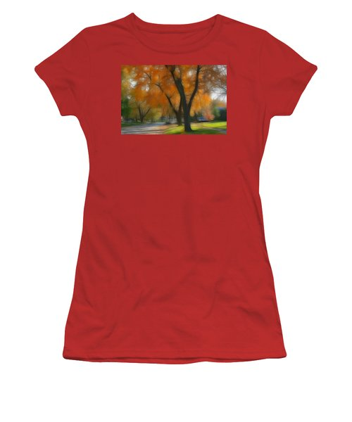 Memory Of An Autumn Day Women's T-Shirt (Athletic Fit)