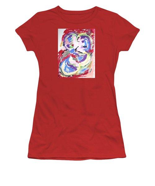 Mental Preoccupation Women's T-Shirt (Junior Cut) by Esther Newman-Cohen