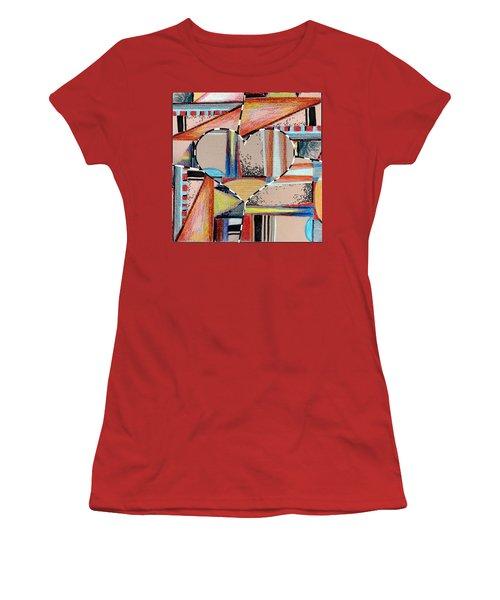 Mixed Messages Women's T-Shirt (Junior Cut) by Mindy Newman