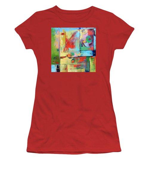 Mood Swing Women's T-Shirt (Junior Cut) by Gary Coleman