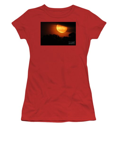 Moon Rise Women's T-Shirt (Junior Cut) by Shelia Kempf
