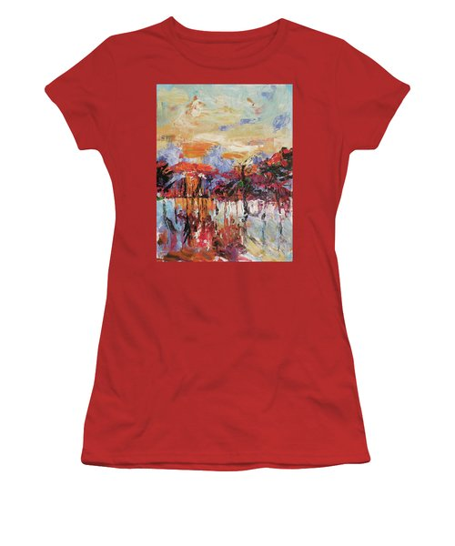 Morning In The Garden Women's T-Shirt (Athletic Fit)