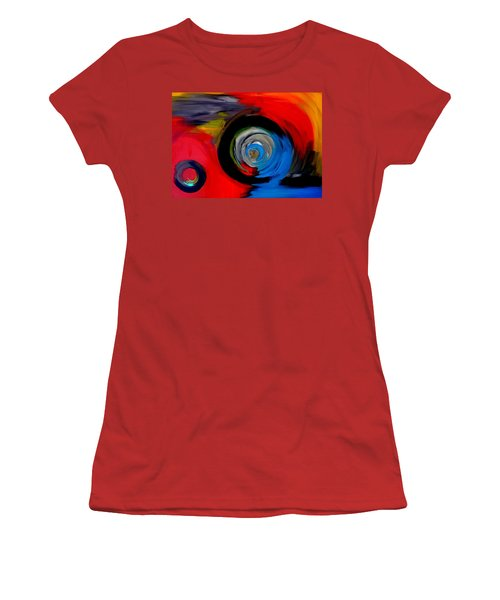 Moving Through Time And Space Women's T-Shirt (Athletic Fit)