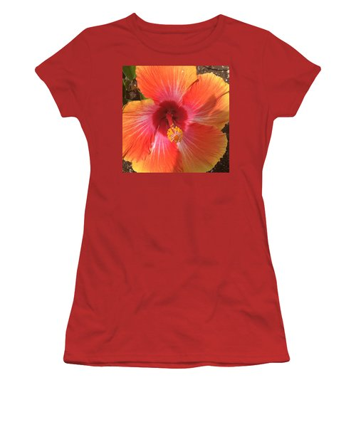 Multi-colored Beauty Women's T-Shirt (Athletic Fit)