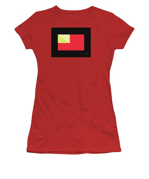 Women's T-Shirt (Junior Cut) featuring the digital art Music Notes 2 by David Bridburg