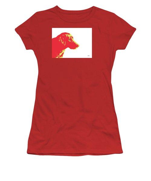 Women's T-Shirt (Junior Cut) featuring the digital art Music Notes 6 by David Bridburg