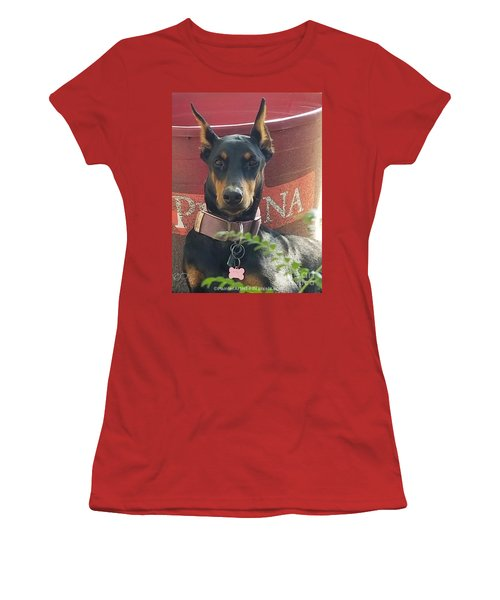 My Shadow Women's T-Shirt (Athletic Fit)
