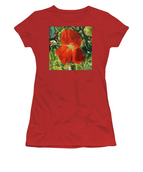 Nasturtium Women's T-Shirt (Athletic Fit)