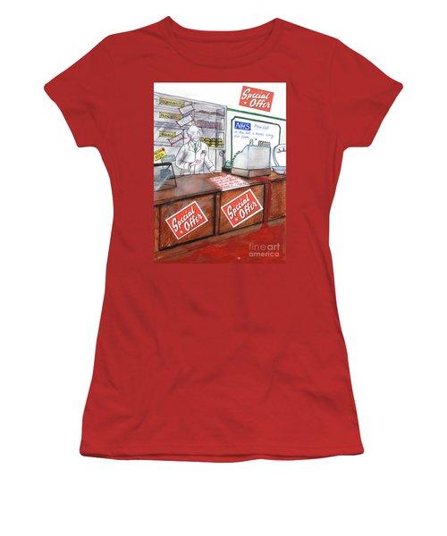 NHS Women's T-Shirt (Athletic Fit)