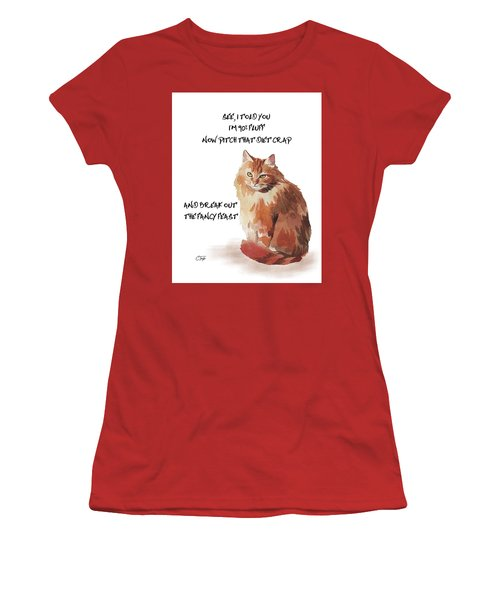 No Fat Cat Women's T-Shirt (Athletic Fit)