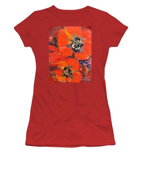Magic Poppy Women's T-Shirt (Athletic Fit)