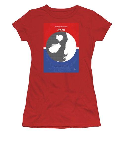 Women's T-Shirt (Junior Cut) featuring the digital art No755 My Jackie Minimal Movie Poster by Chungkong Art