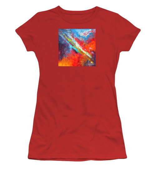 Fantasies In Space Series Painting. Nova Sonata Women's T-Shirt (Athletic Fit)