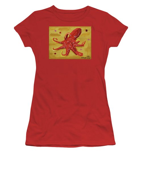 Octopus Women's T-Shirt (Junior Cut) by Anthony LaRocca