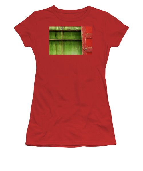 Women's T-Shirt (Junior Cut) featuring the photograph Open Door by Mike Eingle