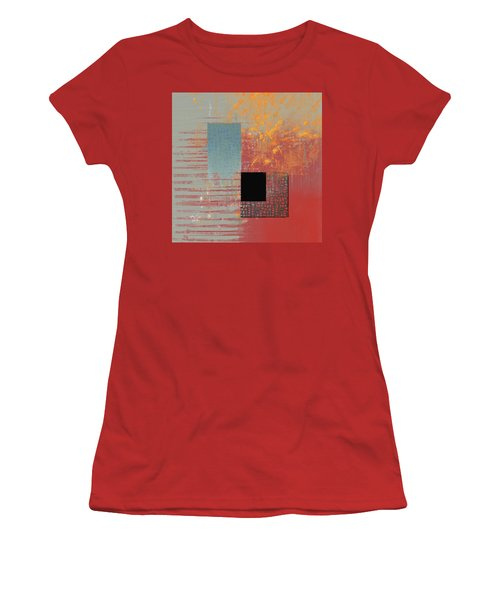 Orange Splash Women's T-Shirt (Athletic Fit)
