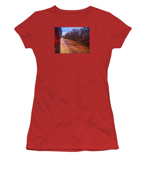 Out The Window Women's T-Shirt (Athletic Fit)