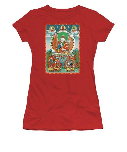 Padmasambhava Women's T-Shirt (Junior Cut) by Sergey Noskov