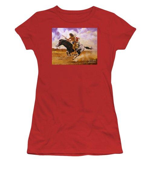 Painted Arrow Women's T-Shirt (Athletic Fit)