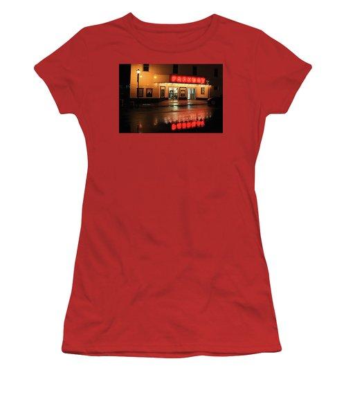 Parkway Night Women's T-Shirt (Junior Cut) by Dale R Carlson
